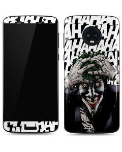 The Joker Insanity Moto G6 Skin