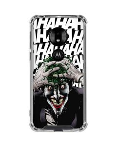 The Joker Insanity Moto G7 Play Clear Case