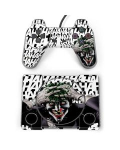 The Joker Insanity PlayStation Classic Bundle Skin