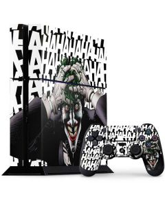 The Joker Insanity PS4 Console and Controller Bundle Skin