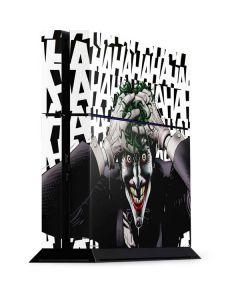 The Joker Insanity PS4 Console Skin