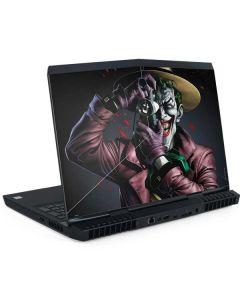 The Joker Killing Joke Cover Dell Alienware Skin