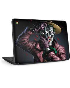 The Joker Killing Joke Cover HP Chromebook Skin