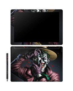 The Joker Killing Joke Cover Galaxy Book 12in Skin
