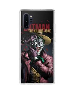 The Joker Killing Joke Cover Galaxy Note 10 Plus Clear Case