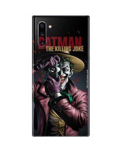 The Joker Killing Joke Cover Galaxy Note 10 Skin