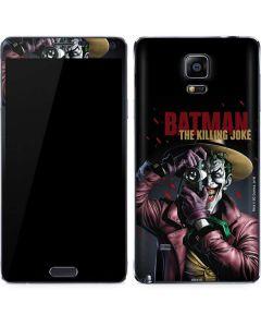 The Joker Killing Joke Cover Galaxy Note 4 Skin