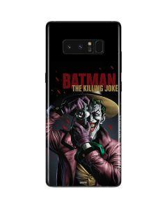 The Joker Killing Joke Cover Galaxy Note 8 Skin