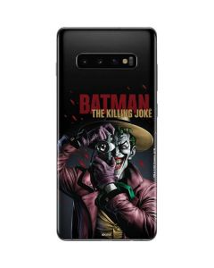 The Joker Killing Joke Cover Galaxy S10 Plus Skin