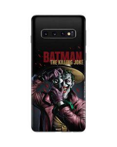 The Joker Killing Joke Cover Galaxy S10 Skin