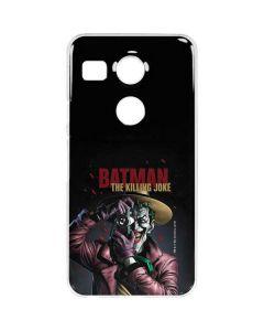 The Joker Killing Joke Cover Google Nexus 5X Clear Case