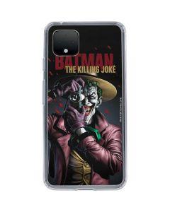 The Joker Killing Joke Cover Google Pixel 4 Clear Case