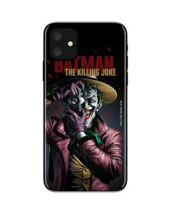 The Joker Killing Joke Cover iPhone 11 Skin