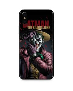 The Joker Killing Joke Cover iPhone X Skin