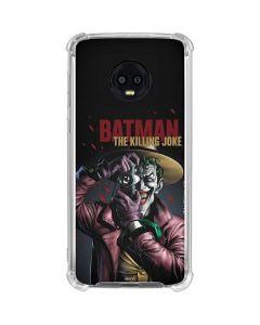 The Joker Killing Joke Cover Moto G6 Clear Case