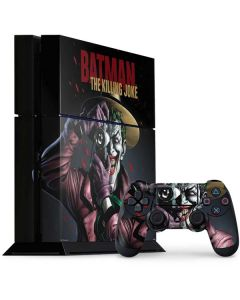The Joker Killing Joke Cover PS4 Console and Controller Bundle Skin