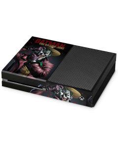 The Joker Killing Joke Cover Xbox One Console Skin