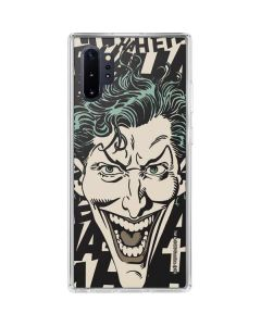 The Joker Laughing Galaxy Note 10 Plus Clear Case