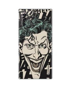The Joker Laughing Galaxy Note 10 Skin