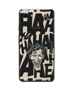 The Joker Laughing Google Pixel 3 XL Skin