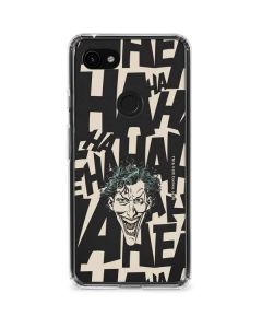 The Joker Laughing Google Pixel 3a Clear Case