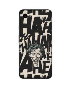 The Joker Laughing Google Pixel 3a Skin