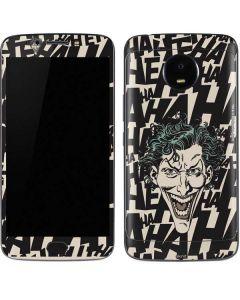 The Joker Laughing Moto E4 Plus Skin