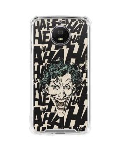 The Joker Laughing Moto G5S Plus Clear Case