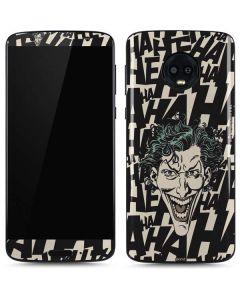 The Joker Laughing Moto G6 Skin