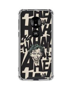 The Joker Laughing Moto G7 Play Clear Case