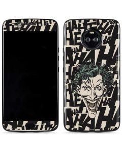 The Joker Laughing Moto X4 Skin