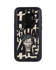 The Joker Laughing Otterbox Defender Galaxy Skin