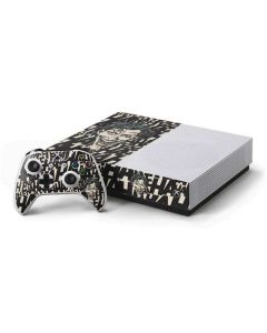 The Joker Laughing Xbox One S Console and Controller Bundle Skin