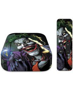 The Joker Put on a Smile Apple TV Skin