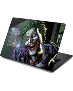 The Joker Put on a Smile Dell Chromebook Skin