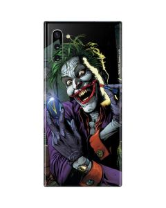 The Joker Put on a Smile Galaxy Note 10 Skin