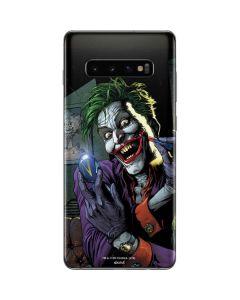 The Joker Put on a Smile Galaxy S10 Plus Skin