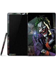 The Joker Put on a Smile Samsung Galaxy Tab Skin