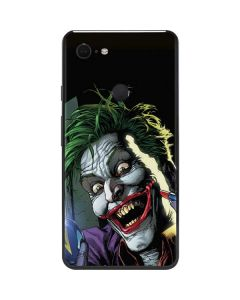 The Joker Put on a Smile Google Pixel 3 XL Skin