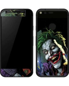 The Joker Put on a Smile Google Pixel Skin