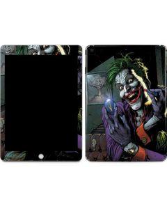 The Joker Put on a Smile Apple iPad Skin