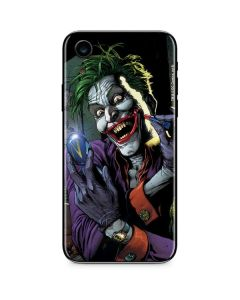 The Joker Put on a Smile iPhone XR Skin