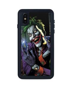 The Joker Put on a Smile iPhone XS Max Waterproof Case