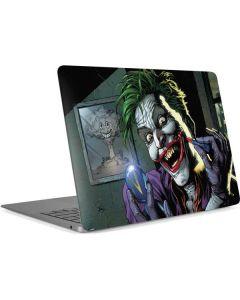 The Joker Put on a Smile Apple MacBook Air Skin