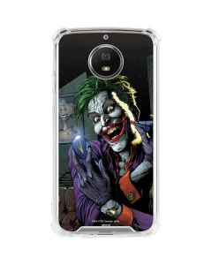 The Joker Put on a Smile Moto G5S Plus Clear Case