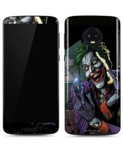 The Joker Put on a Smile Moto G6 Skin
