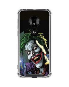 The Joker Put on a Smile Moto G7 Play Clear Case
