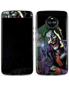 The Joker Put on a Smile Moto X4 Skin