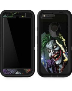 The Joker Put on a Smile Otterbox Defender Pixel Skin