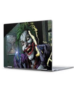 The Joker Put on a Smile Pixelbook Skin